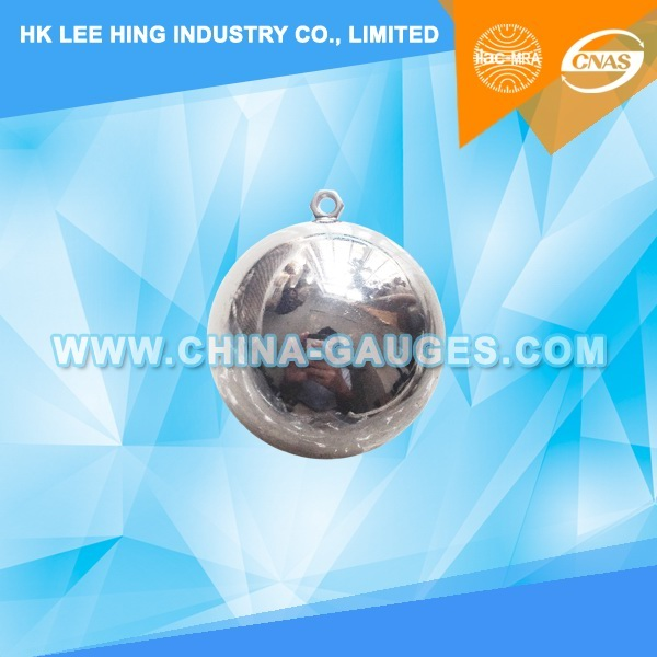 40mm 265g Steel Ball with Eyebolt of IEC60065