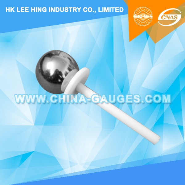 50mm Sphere with Baffle and Handle - Test Probe A of IEC61032