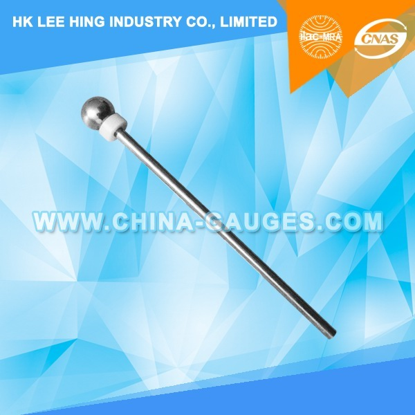 12.5 mm Test Sphere with Handle of DIN 40050