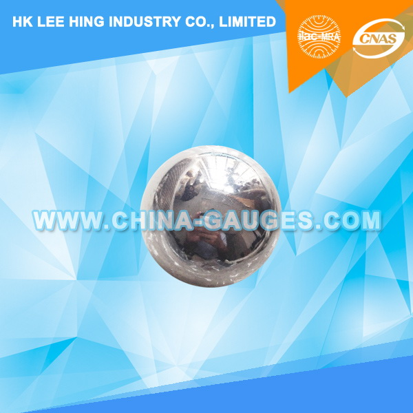 50,8mm Impact Test Steel Ball without Ring