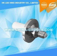 IEC60061-3: 7006-30-2 Plug Gauge for E14 Lampholder for Testing Contact Making