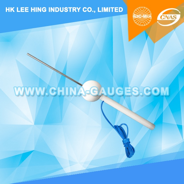 3mm Diameter, 100mm Long Test Pin with Cable