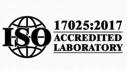 ISO 17025 2017 ACCREDITED LABORATORY